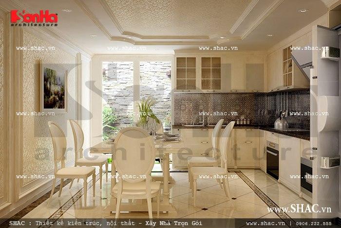 Thiết kế nội thất phòng bếp đẹp sh nop 0082
