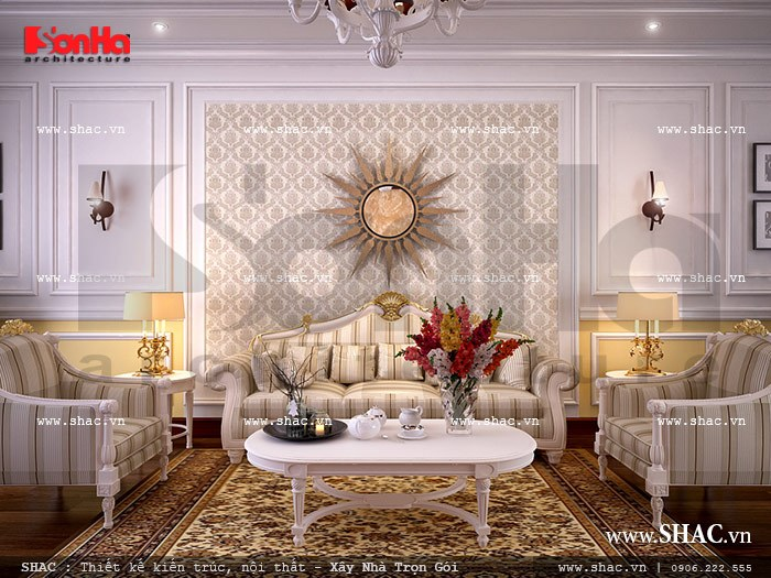Bộ sofa phong cách Pháp