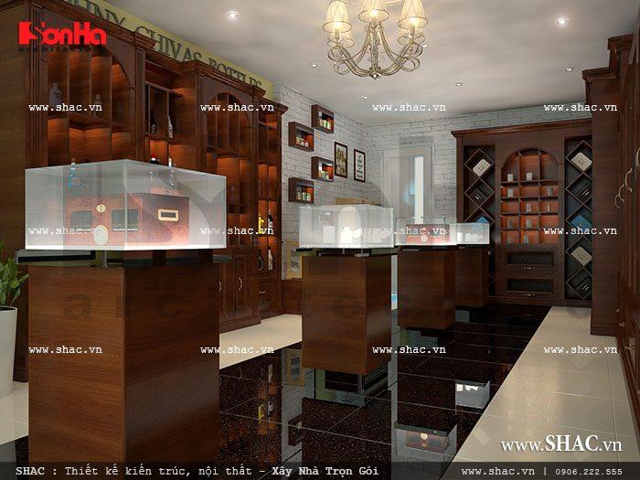 Cửa hàng kinh doanh cigar và rượu ngoại sh sr 0015