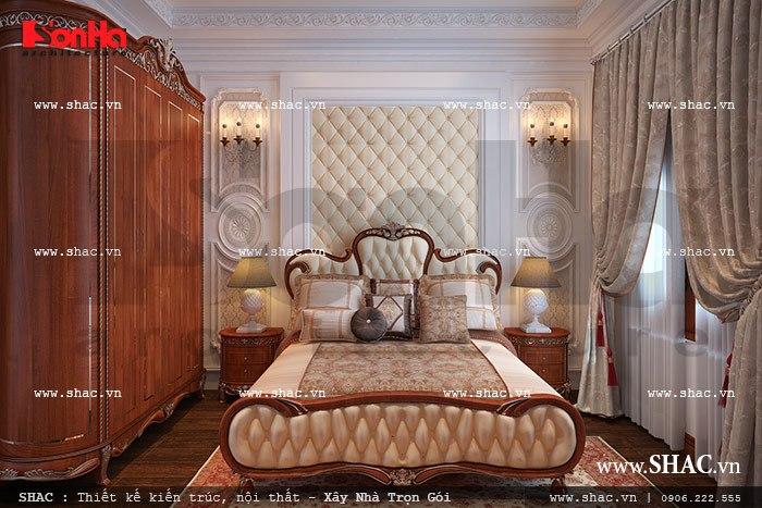 Mẫu phòng ngủ kiểu Pháp nhẹ nhàng và tinh tế trong không gian nhỏ đem đến giây phút nghỉ ngơi thư thái cho chủ nhân căn phòng