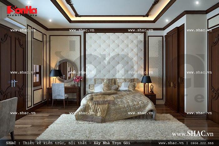 Thiết kế phòng ngủ đẹp và dản dị sh nop 0085