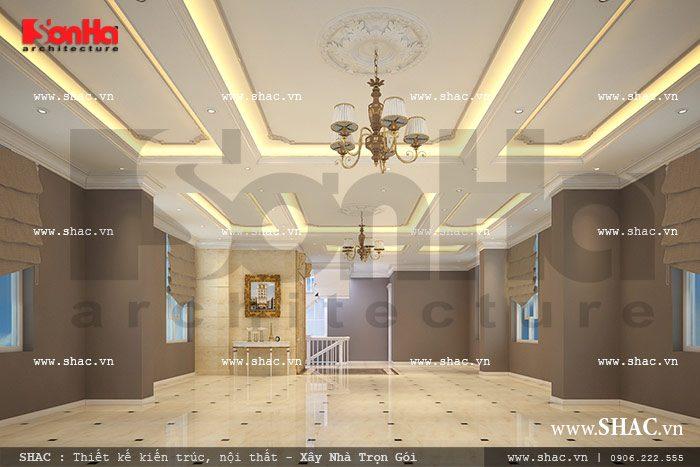 Không gian tầng 2 của tòa nhà sh vp 0019