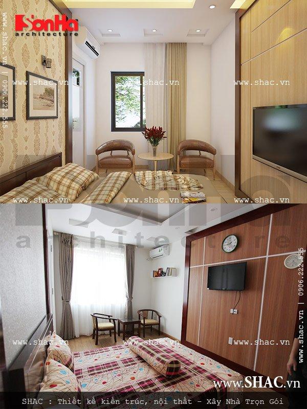 Một phòng ngủ khác được thiết kế đẹp sh btd 0029