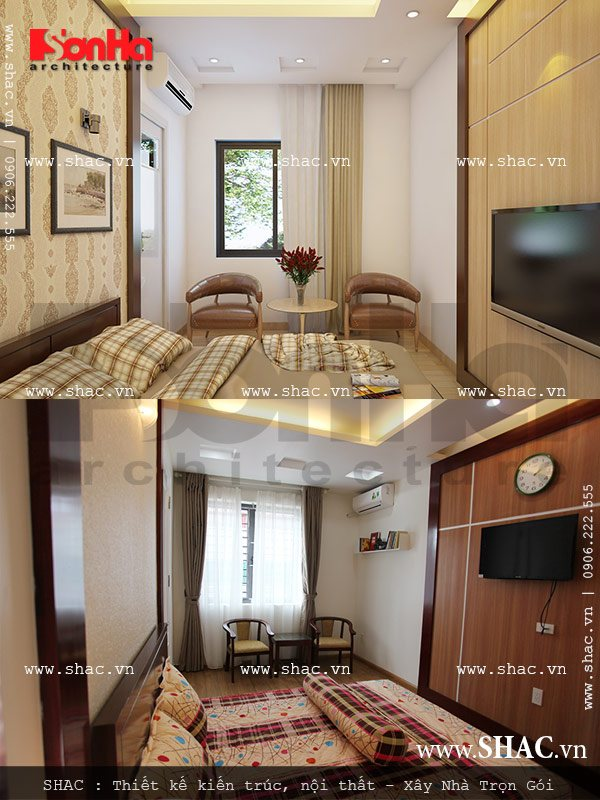 Phòng ngủ nhỏ xinh sh btd 0029