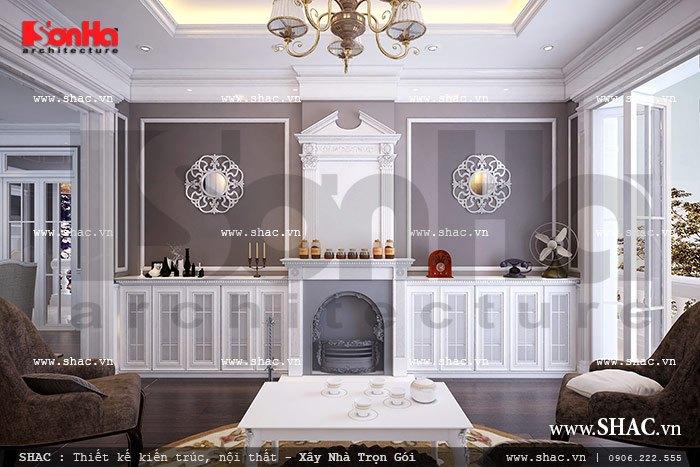 Nội thất phòng được thiết kế trang nhã và đẹp sh vp 0019