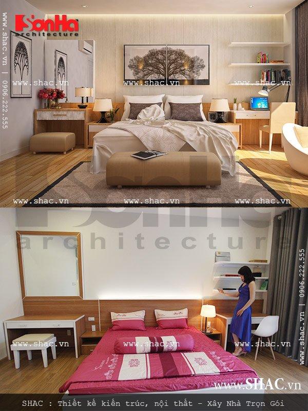 Phòng ngủ chủ nhà