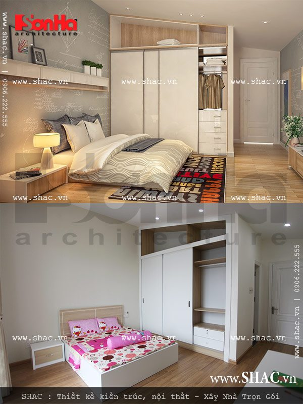 Phòng ngủ của con gái nhỏ sh btd 0029