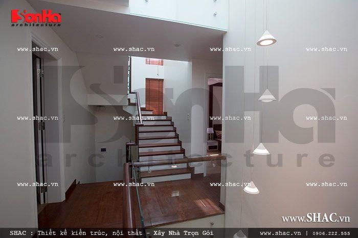 Sảnh cầu thang biệt thự sh btd 0029