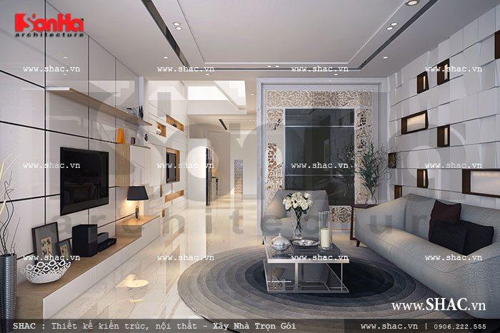 Thiết kế phong cách đẹp cho nhà ống sh nod 0131