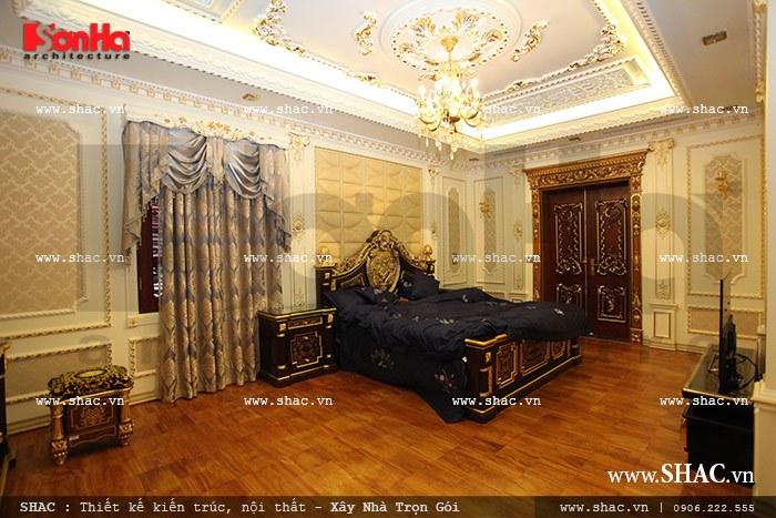 Thiết kế phòng ngủ mang phong cách vương giả sh btld 0012