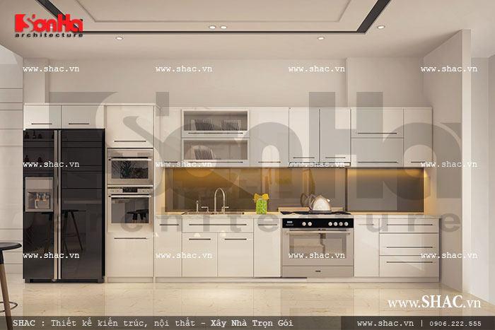 Tủ bếp phòng ăn đẹp sh nod 0131