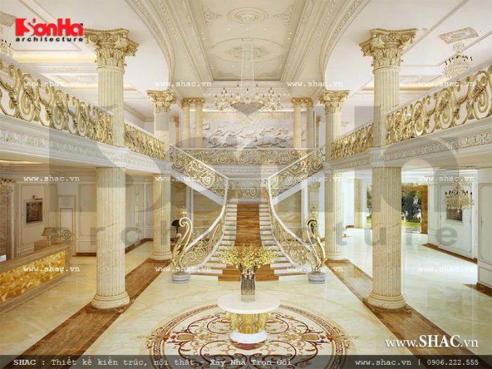 Phương án thiết kế nội thất sảnh khách sạn tiêu chuẩn 5 sao tại Phú Quốc tạo sức hút lớn với Du khách