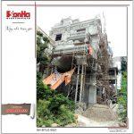 1 Ảnh thực tế thi công kiến trúc biệt thự lâu đài tại hà nội sh btld 0021