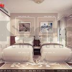 Thiết kế nội thất phòng ngủ lữ hành đôi khách sạn 5 sao tại Phú Quốc sh ks 0023