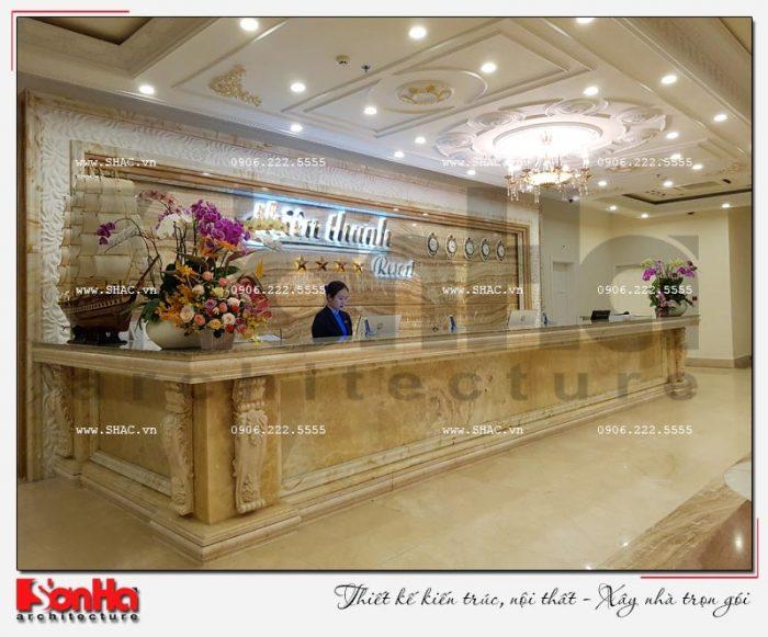 10 Ảnh thực tế nội thất quầy lễ tân khách sạn 5 sao tại phú quốc sh ks 0023