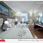11 Thiết kế nội thất phòng ngủ căn deluxe family view khách sạn 5 sao tại phú quốc sh ks 0023