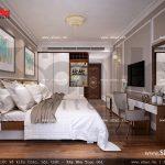 Thiết kế nội thất phòng ngủ 2 giường khách sạn 5 sao tại Phú Quốc sh ks 0023
