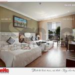 13 Thiết kế nội thất phòng ngủ căn deluxe garden view khách sạn 5 sao tại phú quốc sh ks 0023