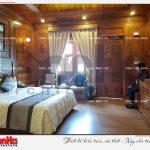 14 Ảnh thực tế nội thất phòng ngủ bungalow khách sạn 5 sao tại phú quốc sh ks 0023