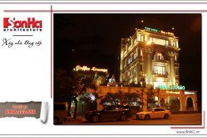 15 Ảnh công trình thực tế kiến trúc nhà hàng cổ điển Pháp tại Quảng Ninh sh bck 0035