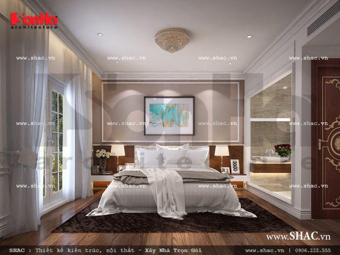 Mẫu nội thất phòng ngủ khách sạn 5 sao dành cho hai người đẹp, lãng mạn