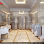 Thiết kế nội thất nhà vệ sinh điển hình khách sạn 5 sao tại Phú Quốc sh ks 0023