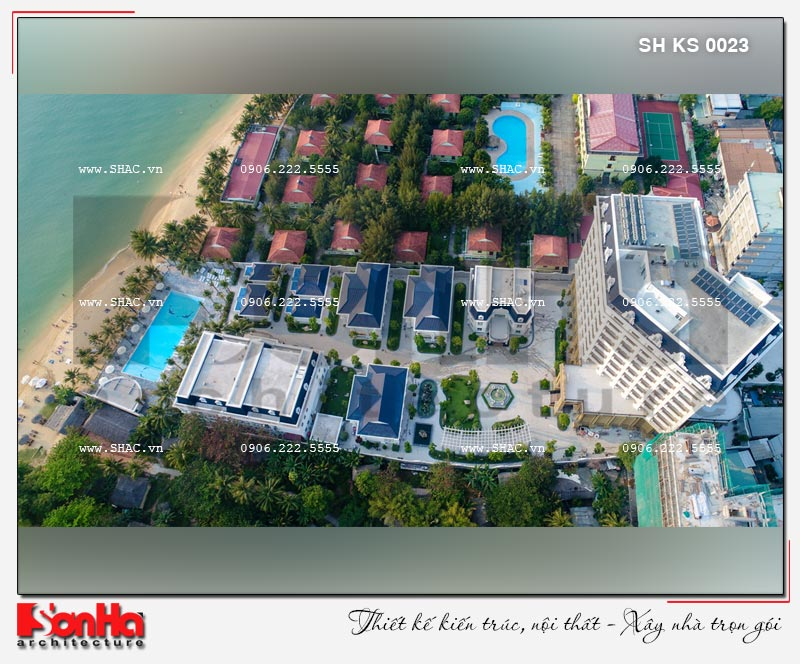 Thiết kế khách sạn 5 sao sang trọng tại Phú Quốc - SH KS 0023 33