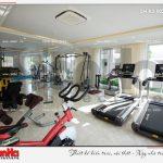 21 Thiết kế nội thất khu gym spa quần thể resort 5 sao tại phú quốc sh ks 0023