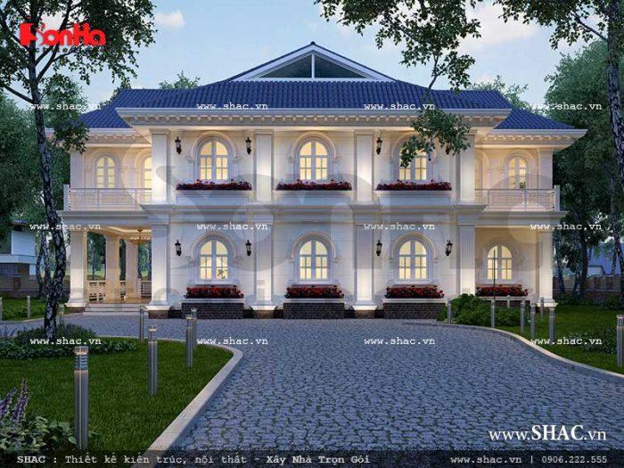 Thiết kế nhà bungalow 9P khách sạn 5 sao tại Phú Quốc sh ks 0023