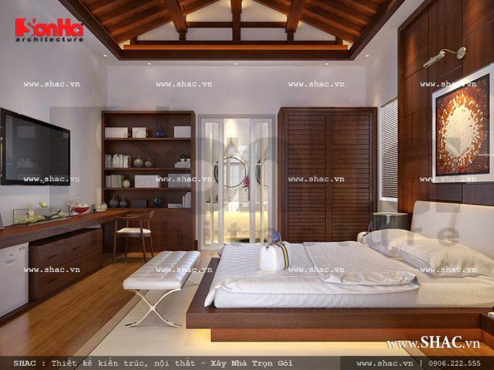 Thiết kế nội thất phòng bungalow khách sạn 5 sao tại Phú Quốc sh ks 0023