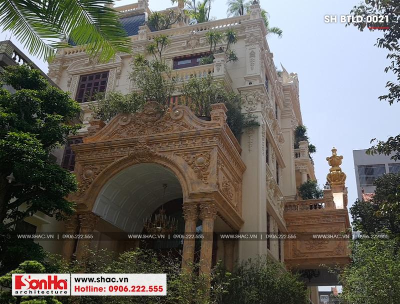 Mẫu thiết kế - thi công biệt thự tại Thái Nguyên