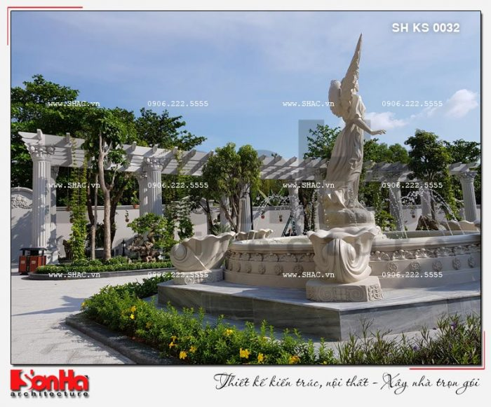 3 Ảnh thực tế tiểu cảnh sân vườn khách sạn 5 sao tại phú quốc sh ks 0023