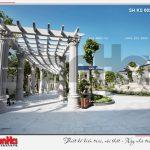 4 Mẫu thiết kế khuôn viên khu resort 5 sao tại phú quốc sh ks 0023