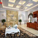 Thiết kế nội thất phòng giám đốc khách sạn 5 sao tại Phú QUốc sh ks 0023