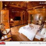 7 Thiết kế nội thất phòng ngủ bungalow khách sạn 5 sao tại phú quốc sh ks 0023