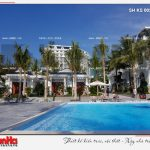 9 Ảnh thực tế khu bể bơi nhân tạo khách sạn 5 sao tại phú quốc sh ks 0023