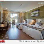 9 Thiết kế nội thất phòng ngủ căn deluxe city view khách sạn 5 sao tại phú quốc sh ks 0023