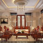 Bộ ghế đồng kỵ đẹp cho phòng khách pháp sh btp 0069