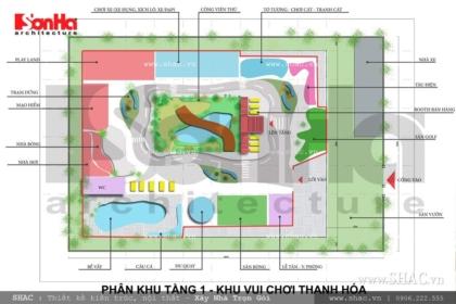 Dự án thiết kế khu vui chơi dành cho trẻ em