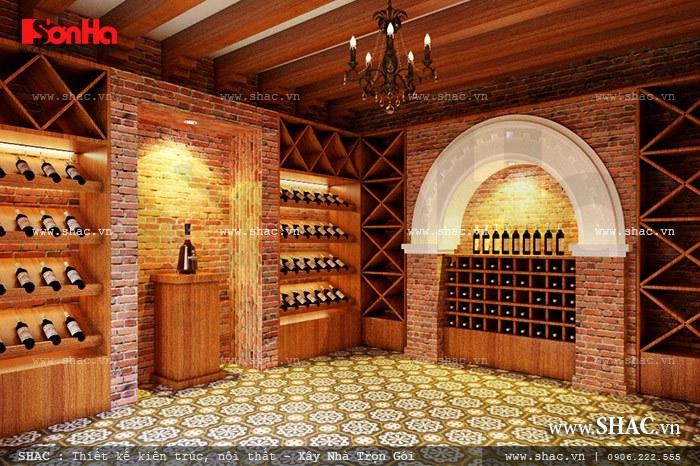 Hầm rượu của nhà hàng Khu vực cafe sh bck 0035