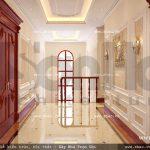 Hành lang các tầng của biệt thự sh btp 0069