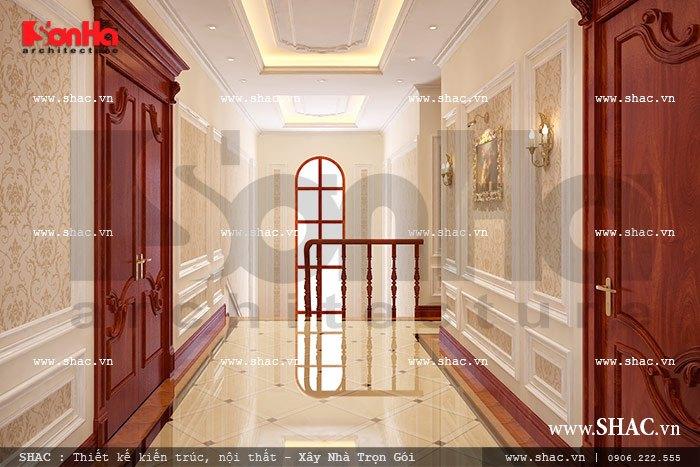 hàng lang các tầng