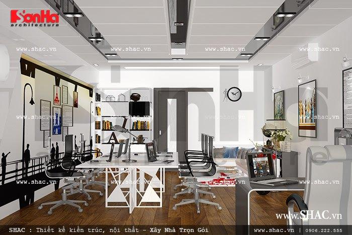 Khu văn phòng làm việc hiện đại sh nod 0133