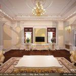 Một phòng khách mang phong cách pháp sang trọng sh btld 0021