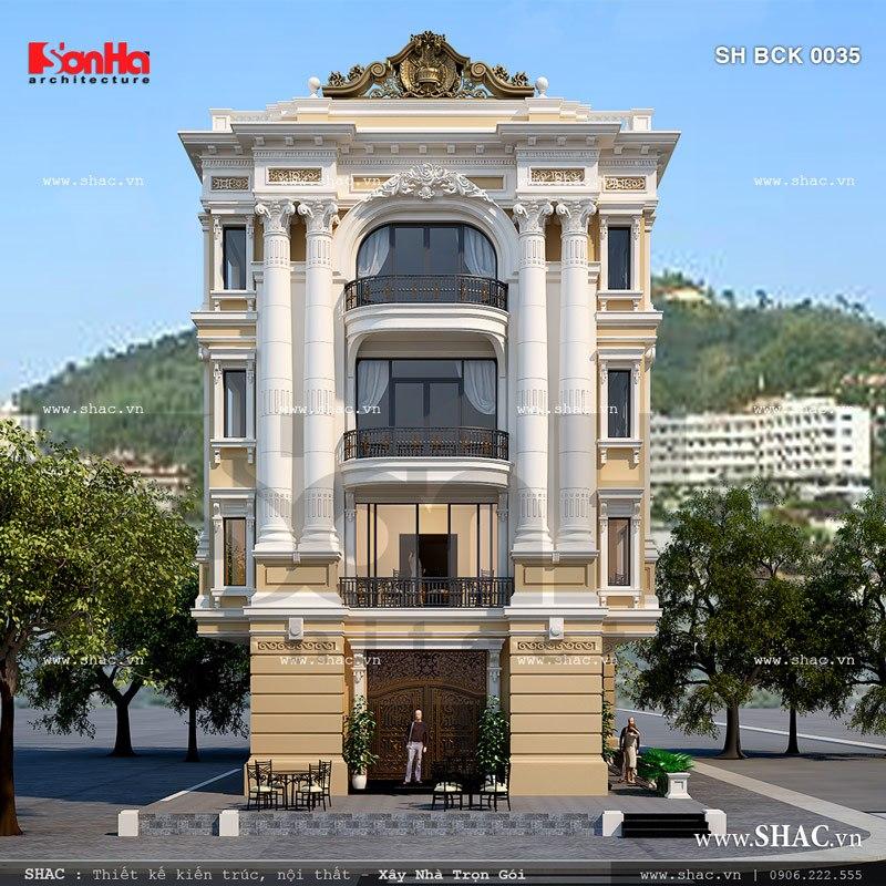 Nhà hàng 4 tầng sang trọng và đẳng cấp sh bck 0035