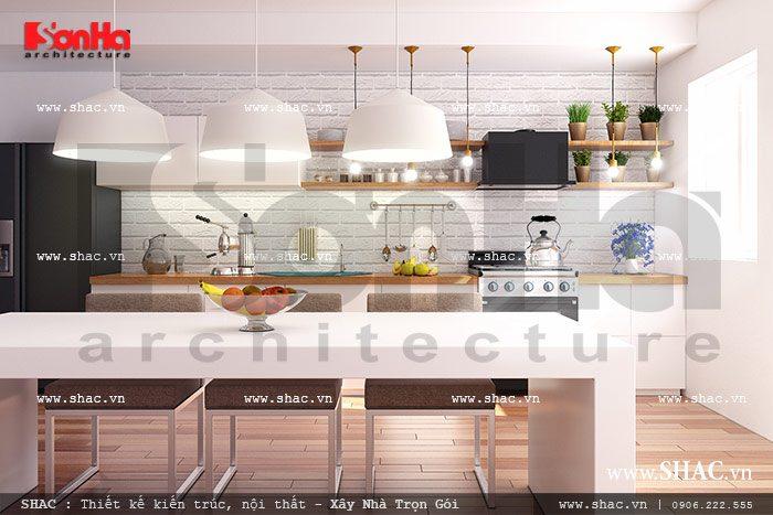 Nội thất bếp ăn sh nod 0133