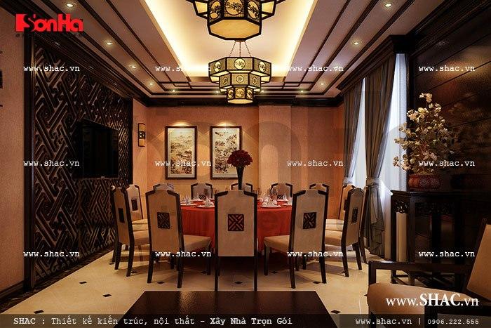 Nội thất phòng ăn nhà hàng kiểu trung quốc sh bck 0035