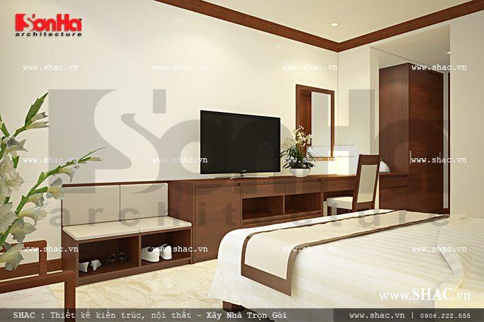 Nội thất phòng ngủ đơn sh ks 0024