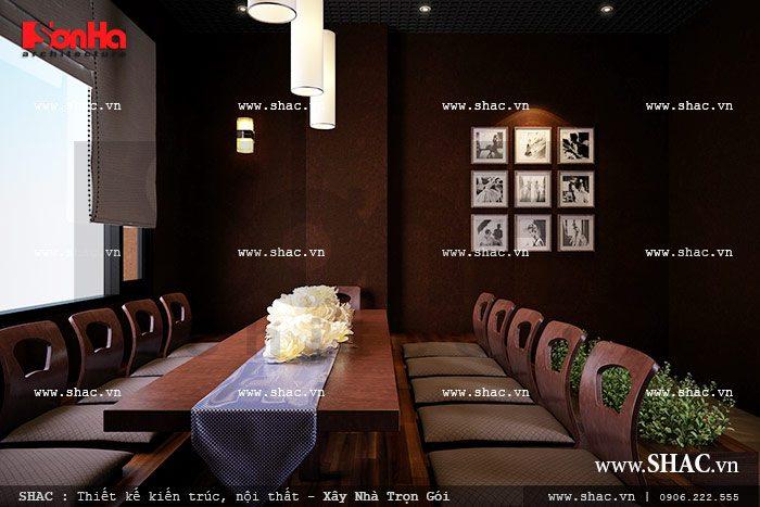 Phòng ăn phong cách nhật bản sh bck 0035