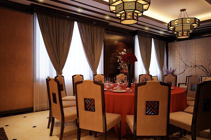 Phòng ăn phong cách trung quốc sh bck 0035